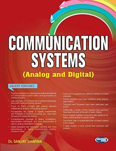 9789350143599: Communication Systems (ANALOG and DIGITAL)