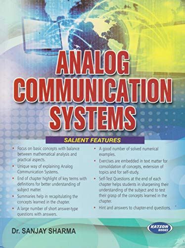 Analog Communication Systems: Dr Sanjay Sharma