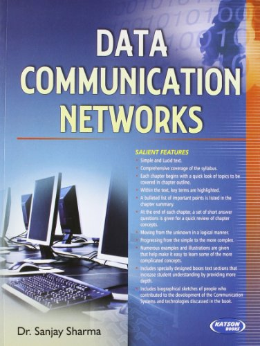 Data Communication Networks: Dr. Sanjay Sharma