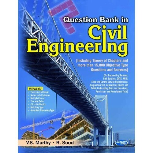 9789350144299: Question Bank in Civil Engineering
