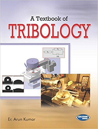 9789350145227: A Textbook Of Tribology