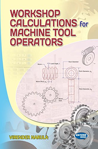 Workshop Calculations for Machine Tool Operators: Virender Narula