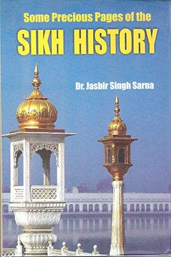 9789350178966: Some precious pages of the Sikh history