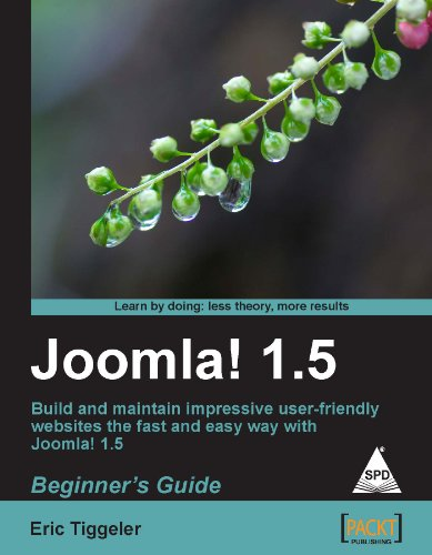 9789350231500: Joomla! 1.5: Beginner'S Guide