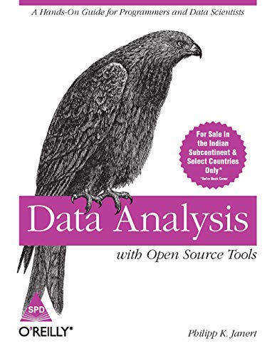 9789350231777: Data Analysis with Open Source Tools [DATA ANALYSIS W/OPEN SOURCE TO] [Paperback]
