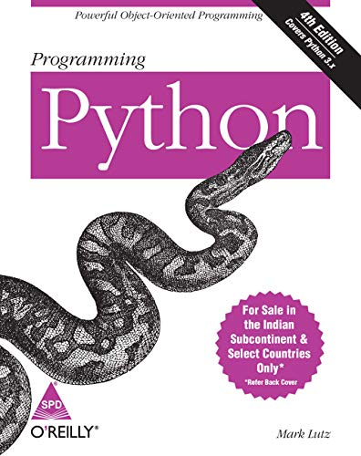 Programming Python: Powerful Object-Oriented Programming (Fourth Edition): Mark Lutz
