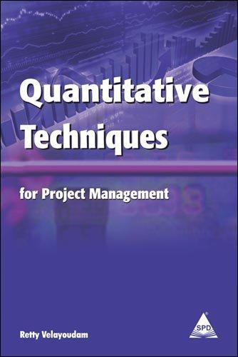 9789350233870: Quantitative Techniques for Project Management