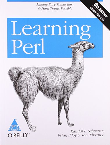 9789350234341: Learning Perl