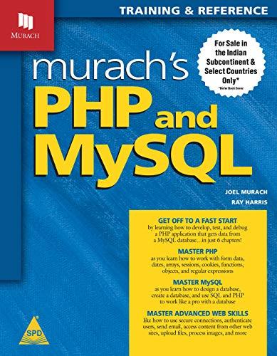 9789350234655: Murach's PHP and MySQL [paperback] Joel Murach, Ray Harris
