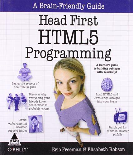 9789350235324: HEAD FIRST HTML5 PROGRAMMING