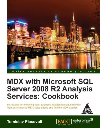 9789350235874: MDX WITH MS SQL SERVER 2008 R2 ANALYSIS SERVICES COOKBOOK
