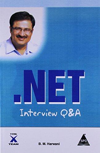 .NET Interview Q&A: B.M. Harwani