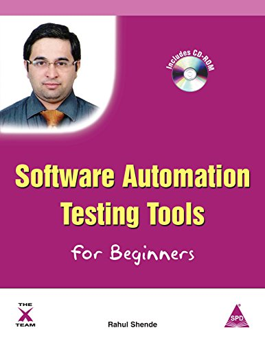 9789350236482: Software Automation Testing Tools for Beginners