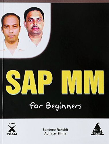 9789350236499: SAP MM for Beginners