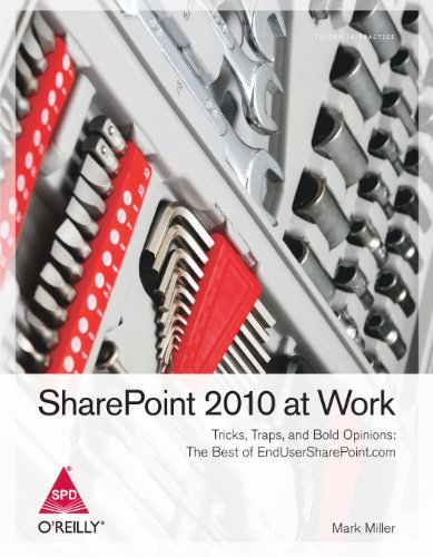 9789350236680: Sharepoint 2010 At Work: Tricks, Traps, And Bold Opinions