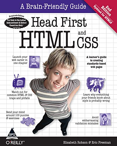 9789350238790: Head First HTML and CSS
