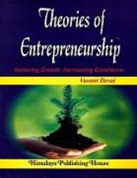 Theories of Entrepreneurship: Desai, Vasant