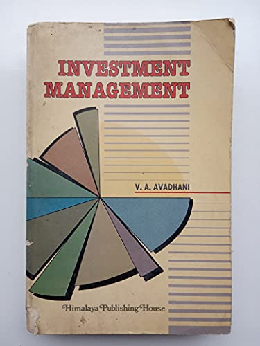 Investment Management: Avadhani, V.A.
