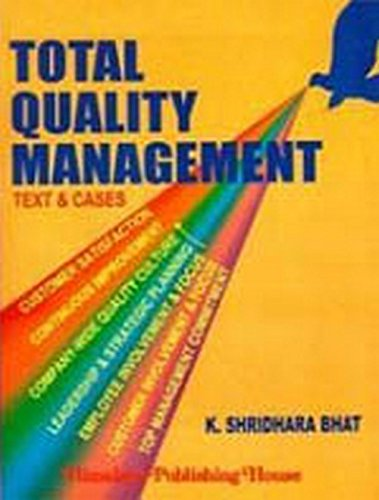 9789350248744: Total Quality Management