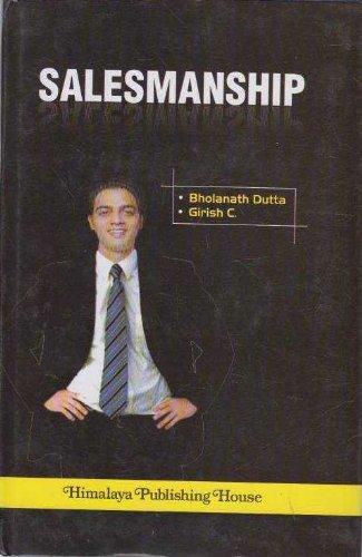 SALESMANSHIP: Prof. Bholanath Dutta