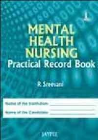 9789350252017: Mental Health Nursing Practical Record Book