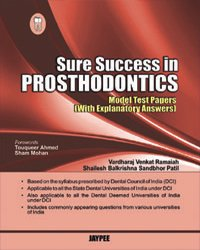 9789350253403: Sure Success in Prosthodontics