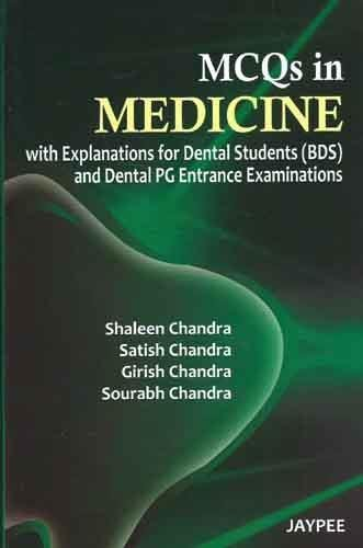 9789350254196: MCQS IN MEDICINE WITH EXPLANATIONS FOR DENTAL