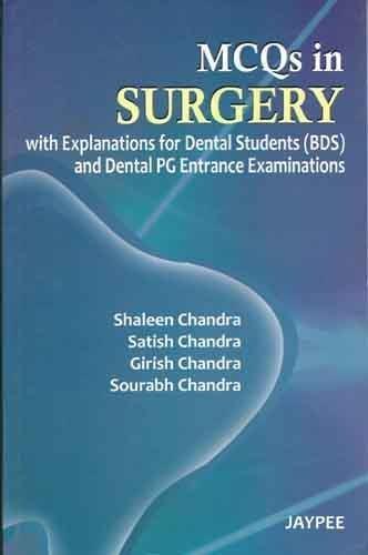Mcqs In Surgery, 1/E: Chandra