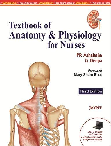 Textbook of Anatomy and Physiology for Nurses (Third Edition)