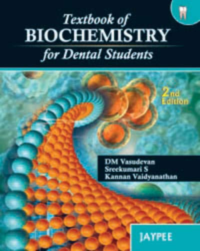 9789350254882: Textbook of Biochemistry for Dental Students