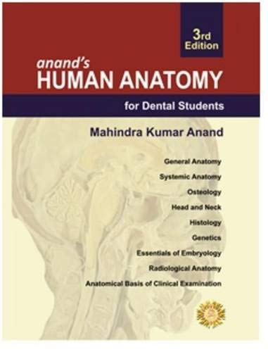 Anand's Human Anatomy For Dental Students: Anand