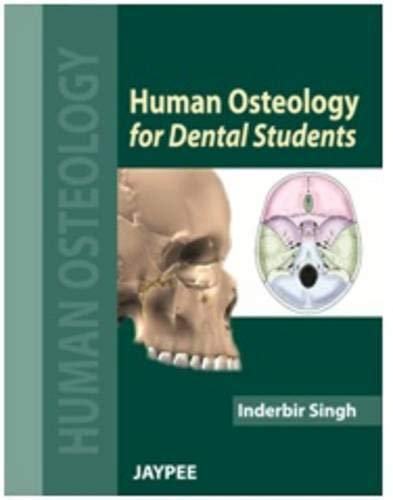 Human Osteology for Dental Students: Inderbir Singh