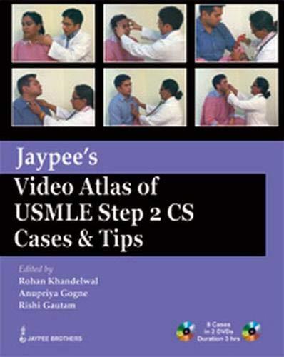 9789350256305: Jaypee's Video Atlas of USMLE Step 2 CS Cases & Tips (USMLE Exam)
