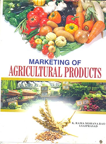 Marketing of Agriculture Products: Saiprasad I. Rao