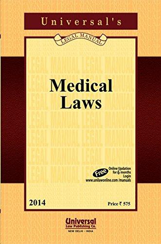 Medical Laws,: UNIVERSAL'S Legal Manual