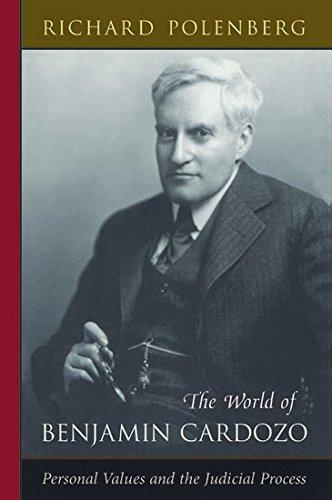 9789350351338: The World of Benjamin Cardozo