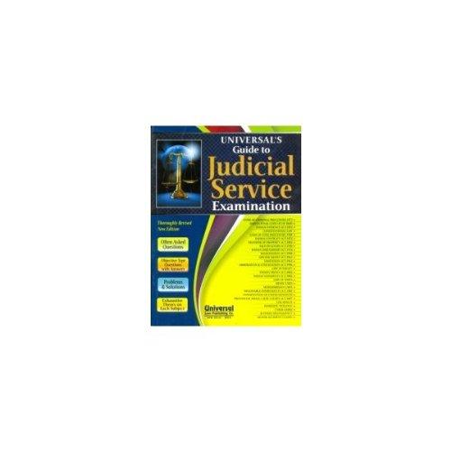 9789350351543: Guide to Judicial Service Examination