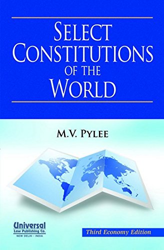 9789350351925: Select Constitutions of the World