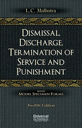 9789350352151: Dismissal, Discharge: Termination of Service and Punishment
