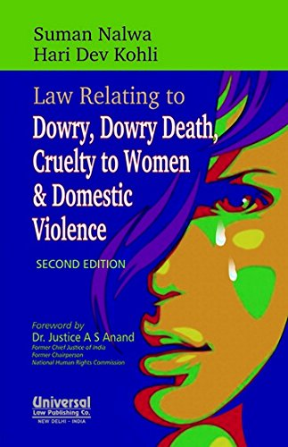 9789350352366: Law Relating to Dowry, Dowry Death, Cruelty to Women and Domestic Violence