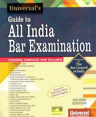 9789350355794: Guide to All India Bar Examination