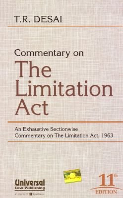 Commentary on The Limitation Act : An: T.R. Desai