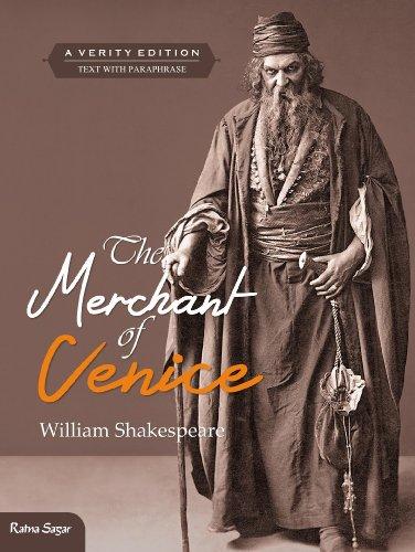 9789350364598: The Merchant of Venice: Text with Paraphrase (Ratna Sagar Shakespeare)