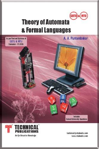 Theory of Automata & Formal Languages: A.A.PUNTAMBEKAR