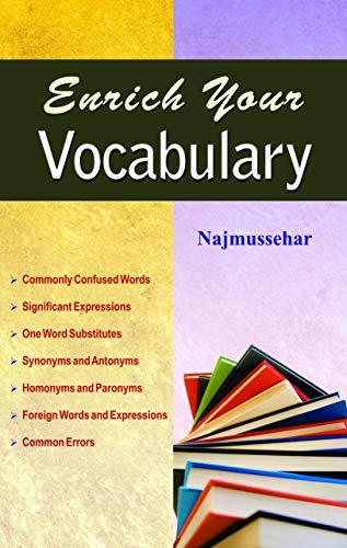 ENRICH YOUR VOCABULARY: NAJMUSSEHAR