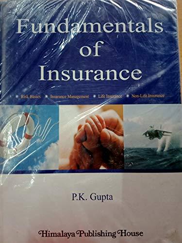 9789350512074: Fundamentals of Insurance