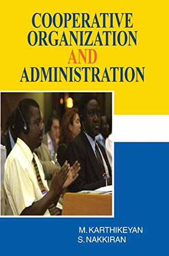 Cooperative Organization and Administration
