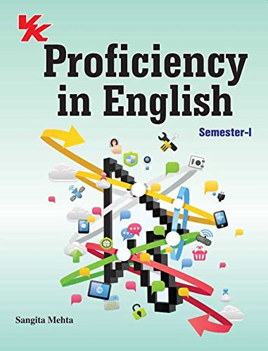 9789350584972: Proficiency in English (Sem-I)