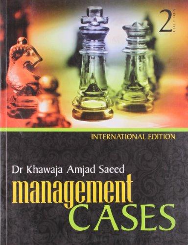 Management Cases (Second Edition): Dr Khawaja Amjad