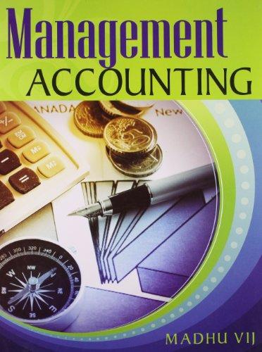 Management Accounting: Madhu Vij